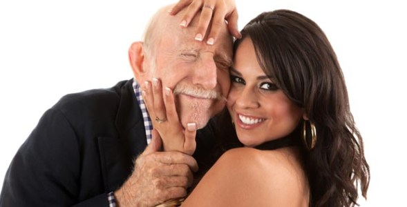Men tend to feel better about themselves if they have someone younger as their partner