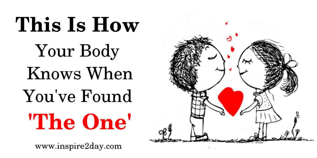 This Is How Your Body Knows When You've Found 'The One'