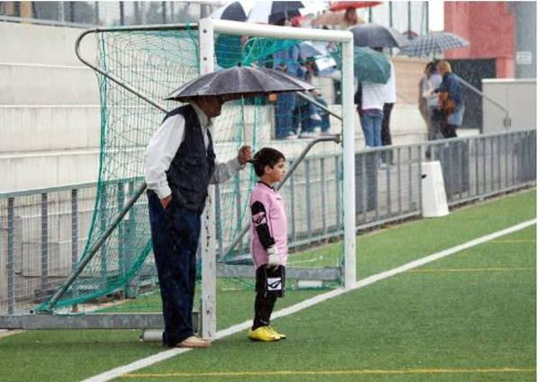 2. Umbrella on the little boy