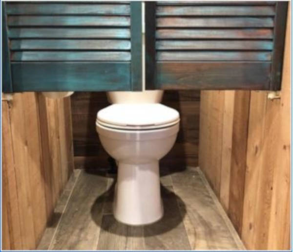 8. A Really Public Toilet