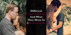 Different Types Of Hugs And What They Mean In A Relationship