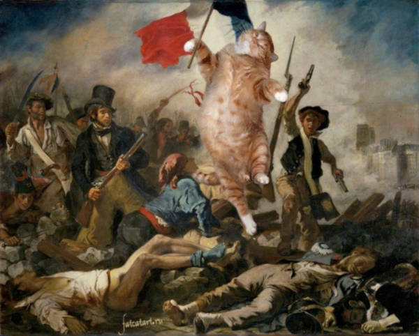 """20. """"Liberty Leading the People"""" by Eugene Delacroix"""