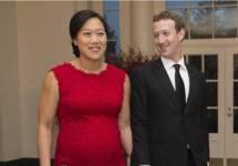 3. Priscilla Chan and Mark Zuckerberg