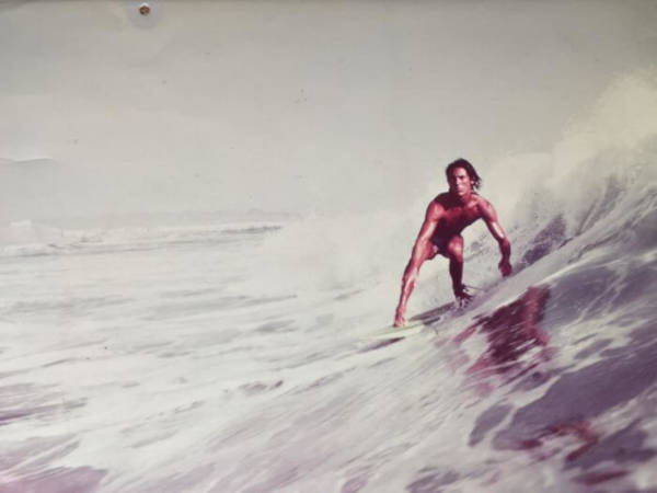9. 'My Dad, Taken For A Surfer Magazine. Peru, 1977'