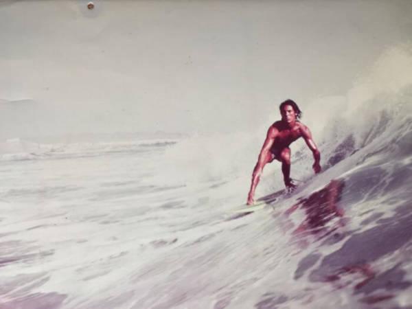 9. 'My Dad, Taken For A Surfer Magazine. Peru, 1977'