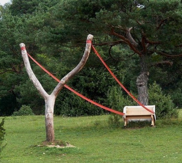 9. Slingshot bench