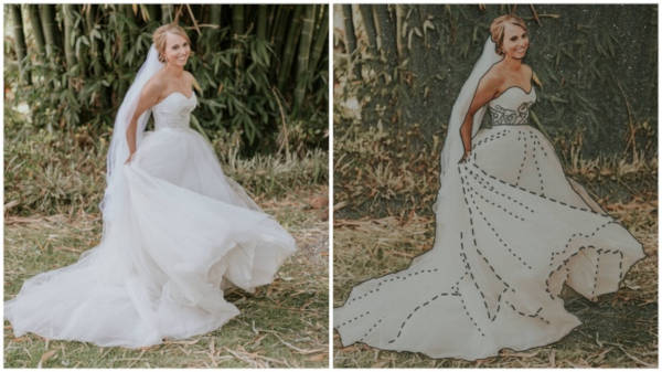 A Photographer Found An Amazing Way So That A Blind Bride Could 'See' Her Wedding Photos - 3
