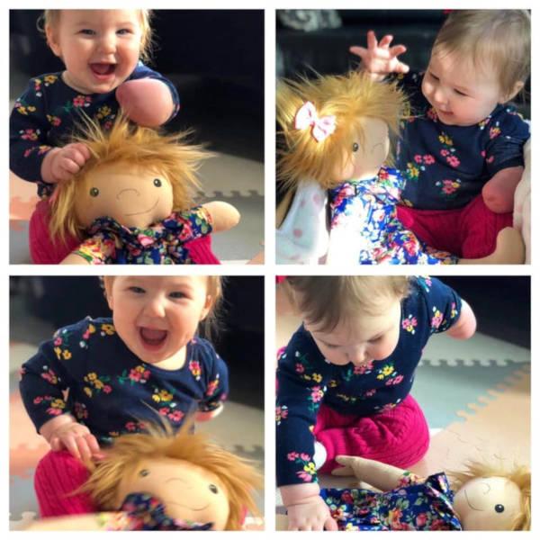 A Woman Creates Unique Dolls For Children That Differ - 3