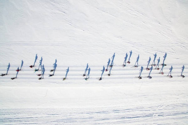"""13. """"What Do You See Cross Country Skiers Or Notes"""