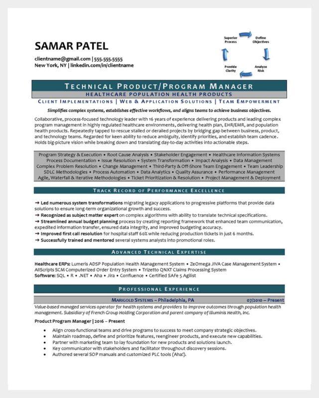 Tech Resume Page 1