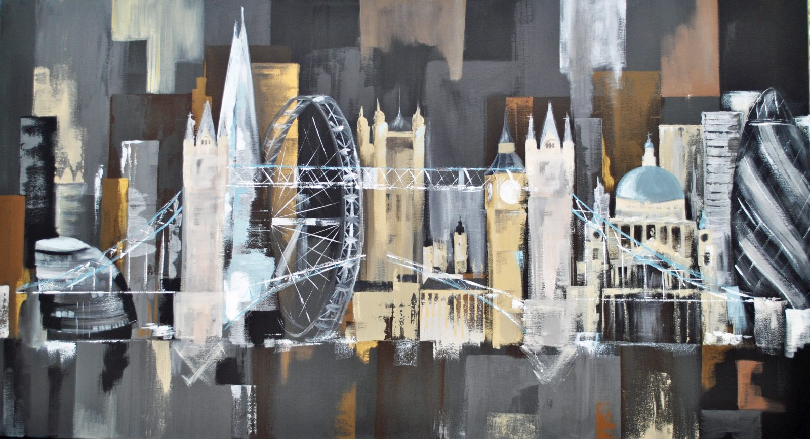 London Themed Bespoke Artwork
