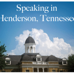 SpeakinginHendersonTN