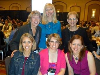 Back: Deb, Julie, Robin Front: Cara, Karen, Jody