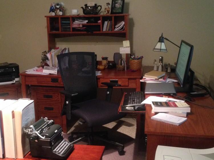 Judy Miller's desk
