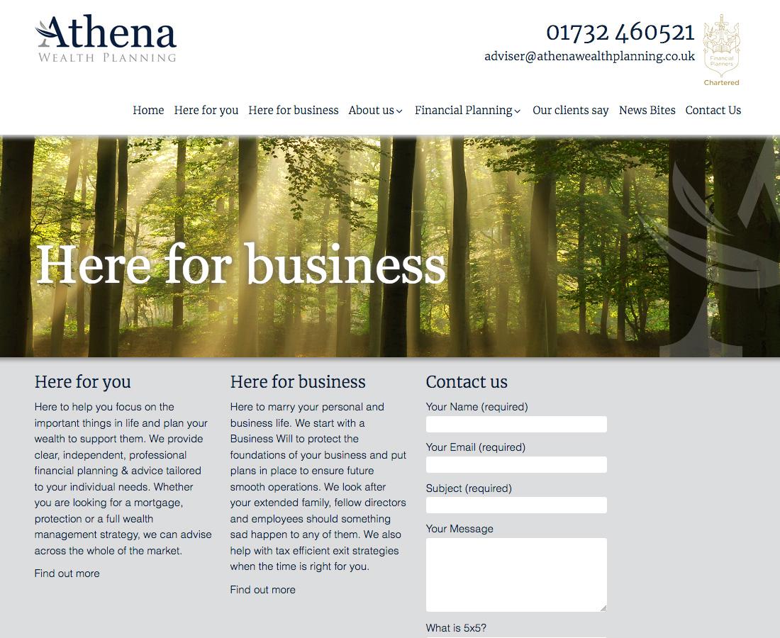 Website-Athena