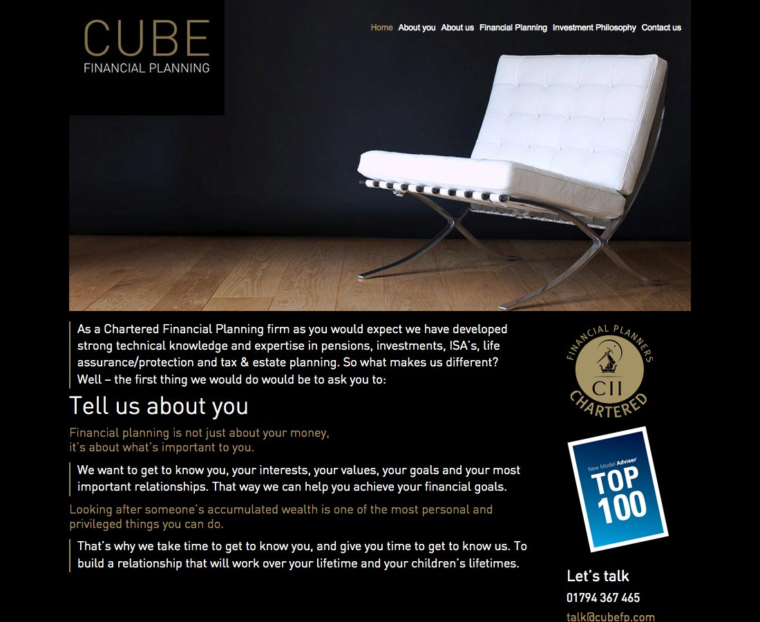 Websites_Cube
