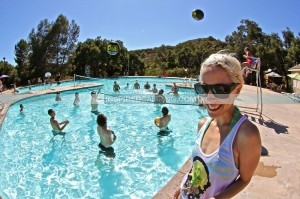 Camp Spin off glamping with DJ Tina T