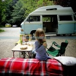 Campervan in action Inspired Camping Cool Camping Campsite