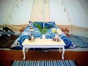 Bella Abode new glamping and cool camping business set up