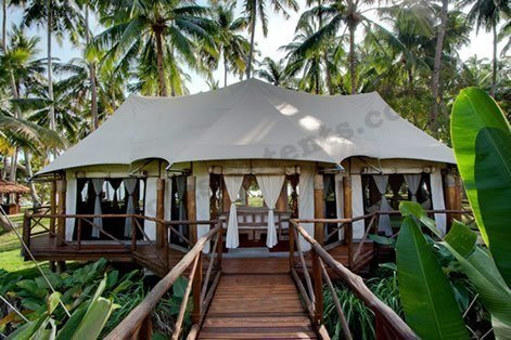 luxury tents for glamping
