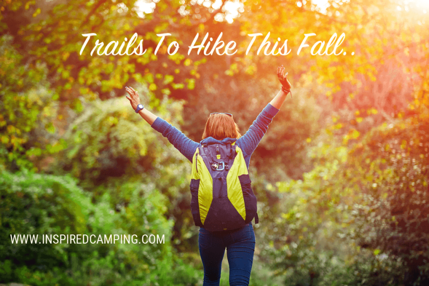 Trails to hike this fall