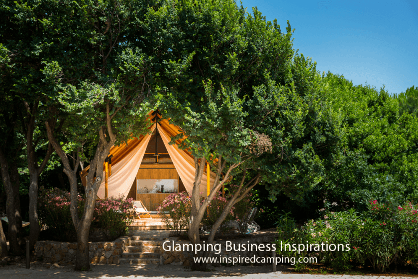 glamping business