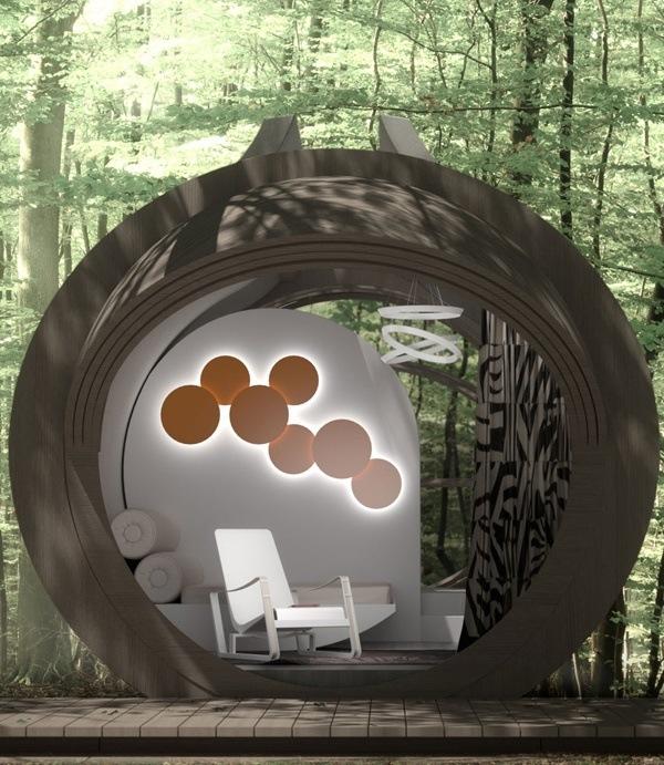 pod homes temporary shelters