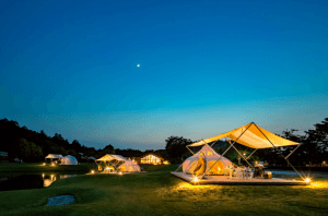 glamping japan business
