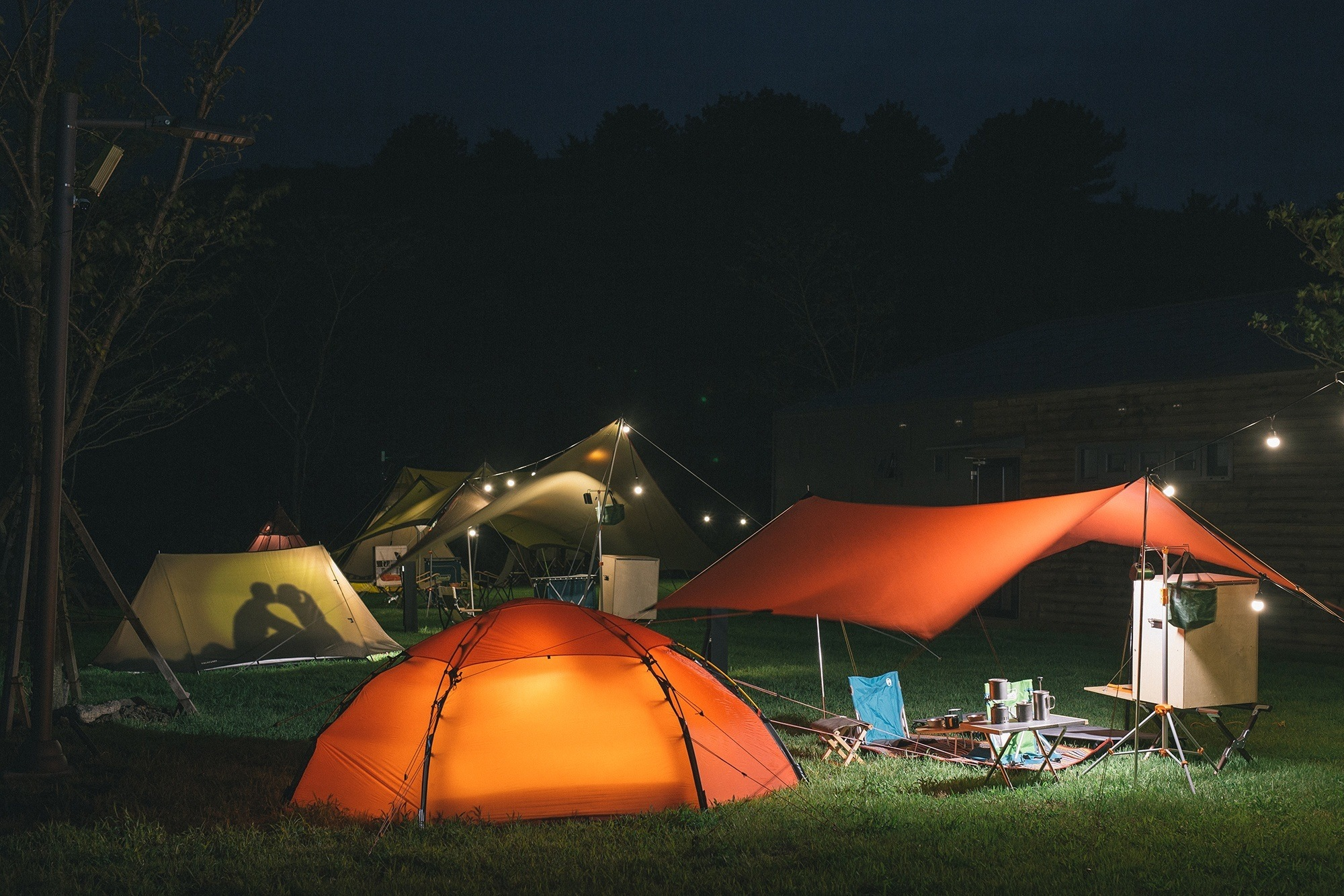 glamping business tents