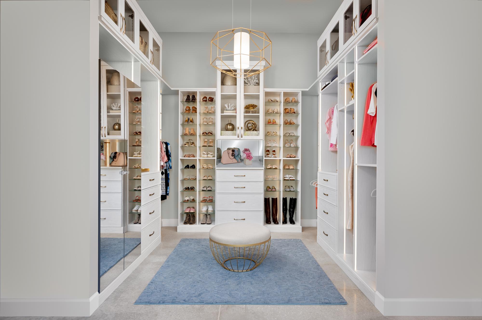 inspired closets shoe storage