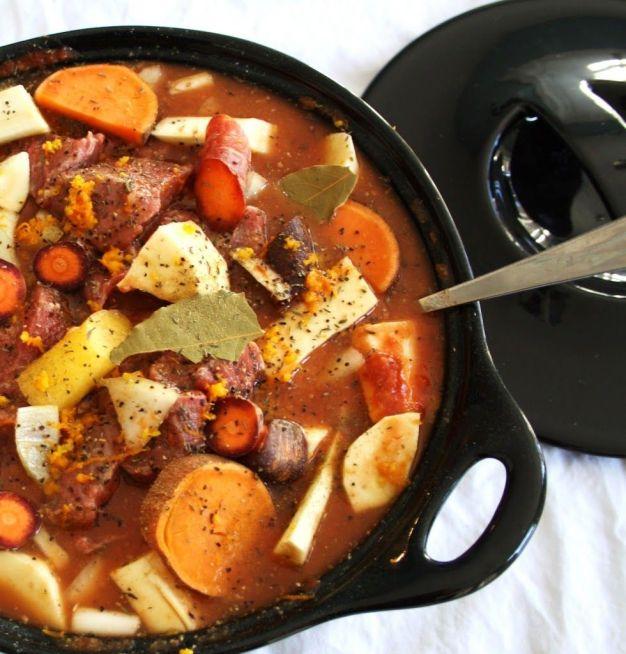 one pot orange ginger beef stew