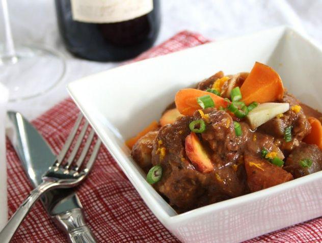 orange ginger beef stew