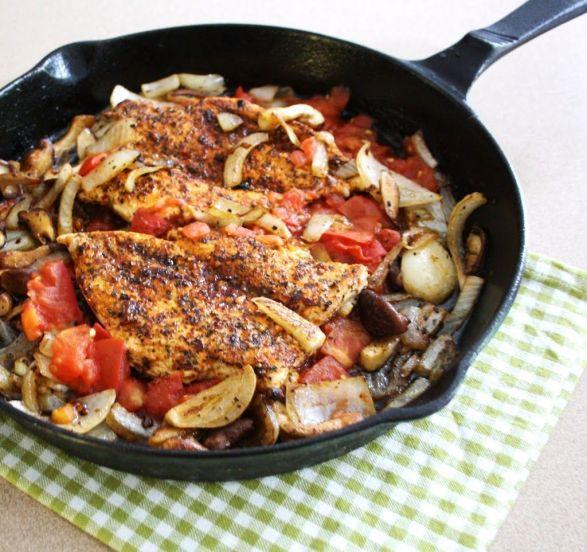 Skillet Seared Cajun Chicken_inspired edibles