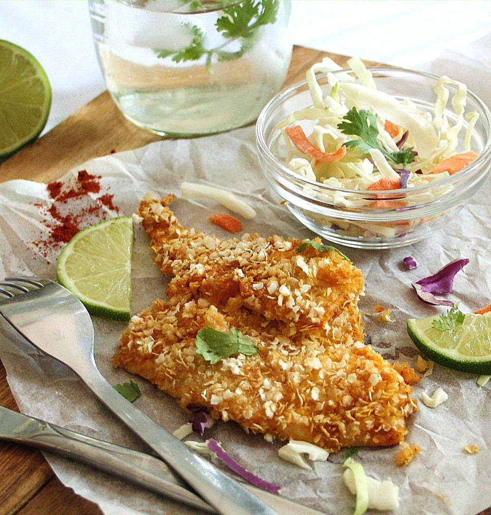Quinoa crusted sole in a chili lime marinade oven baked for Sole fish nutrition