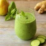 ginger pear smoothie_blog