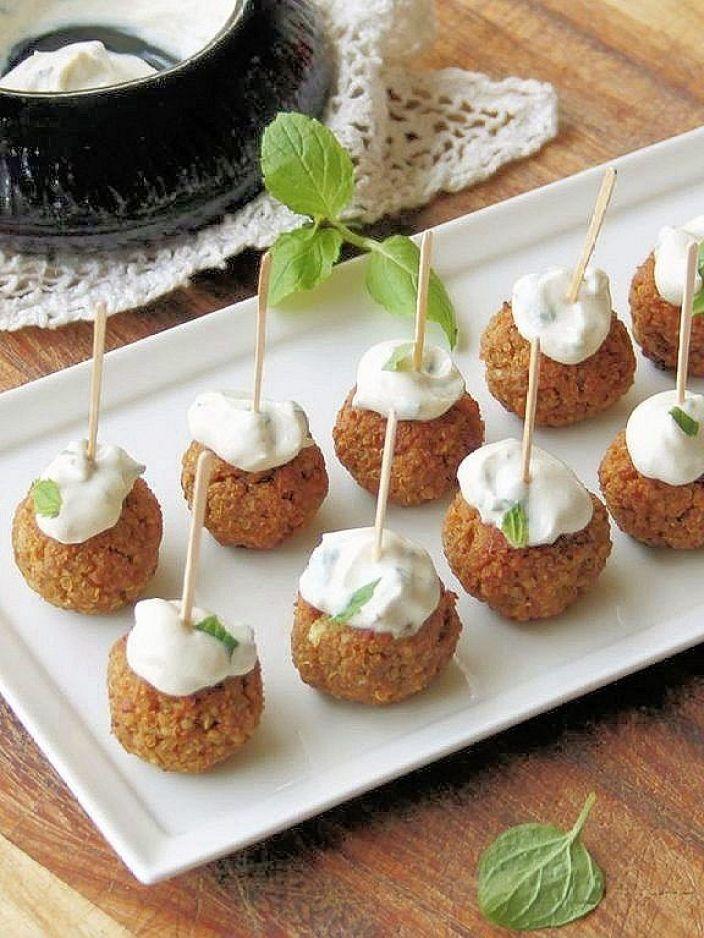 baked quinoa & pecan appetizer balls (gluten-free)