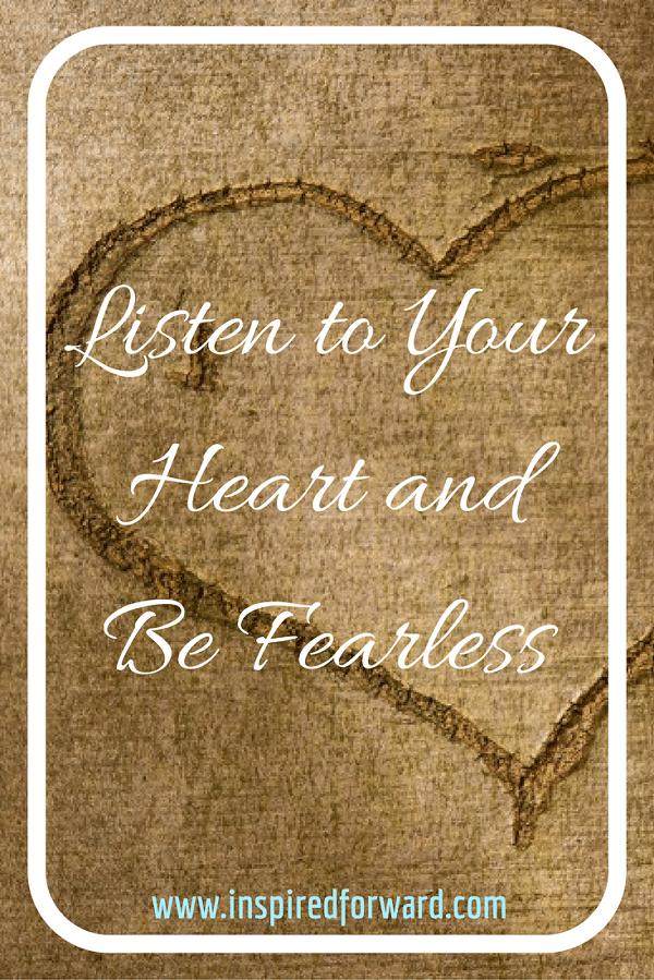 Listen to Your Heart Pinterest