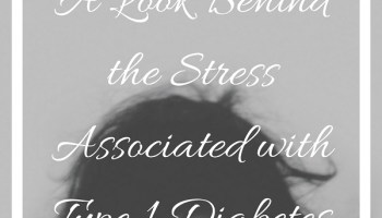 Stress + Type 1 Diabetes Instagram