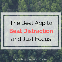 The Best App to Beat Distractions and Just Focus