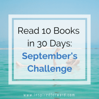 Read 10 Books in 30 Days: September's Challenge