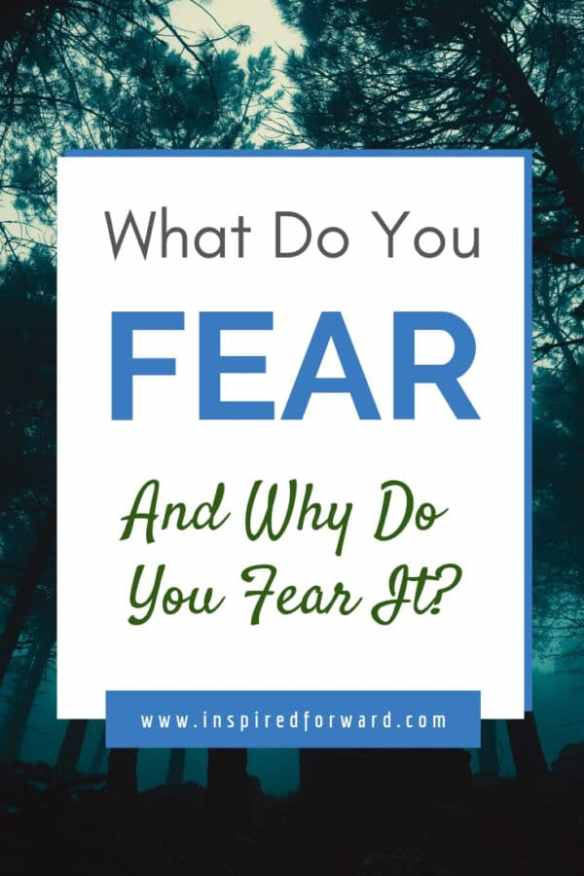 What do you fear, and why? The best way to come to grips with fear is to sit with it and think about it without judgment, and ask yourself some questions.