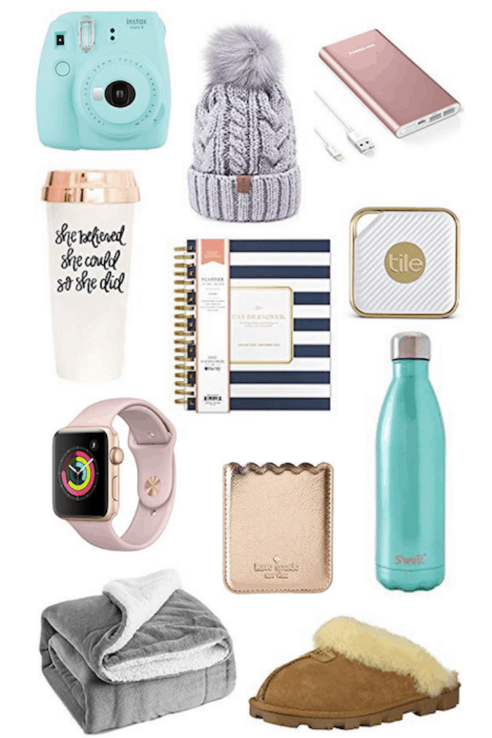 Top 20 Christmas Gifts For College Girls Inspired Her Way