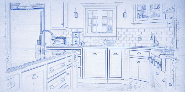 Custom Kitchen Drawing