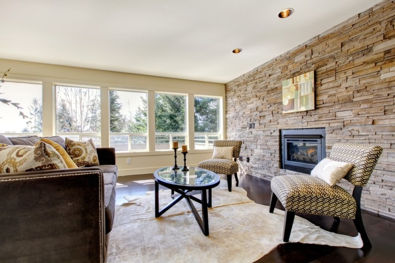 Feature Wall Ideas Living Room With Fireplace Best 25 Part 94