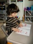 Tristan Reads a Book