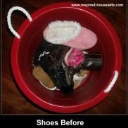 Shoe Organizing