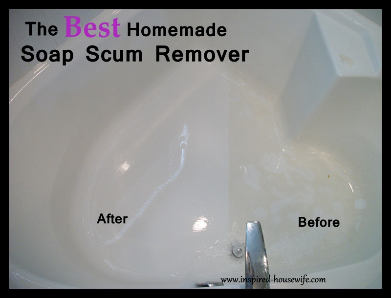 Inspired Housewife: The Best Bathroom Homemade Cleaner ...