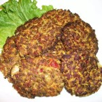 Gluten Free Curried Lentil and Rice Patties