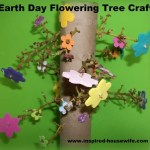 Earth Day Flowering Tree Craft
