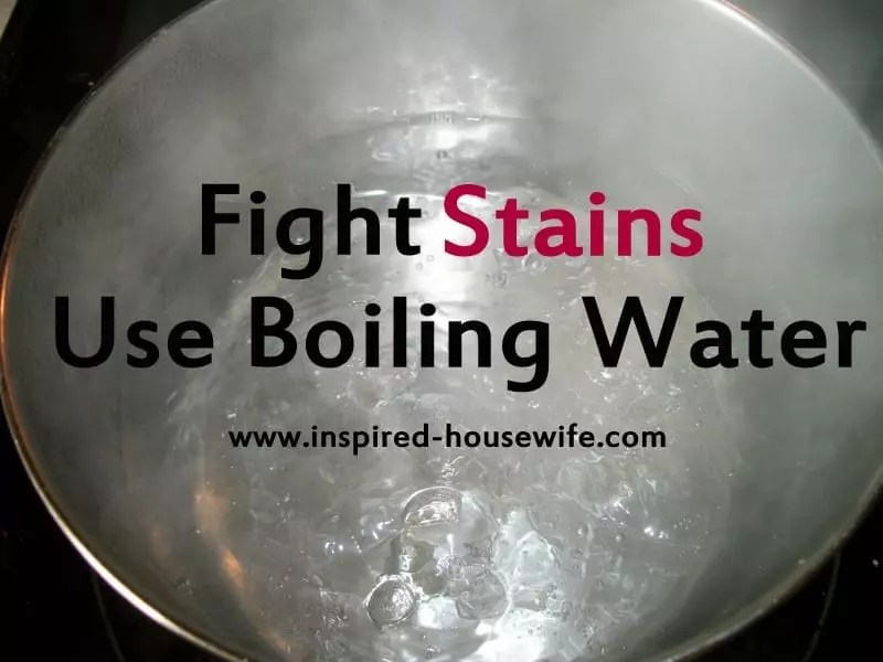 Boiling Water Stain Remover
